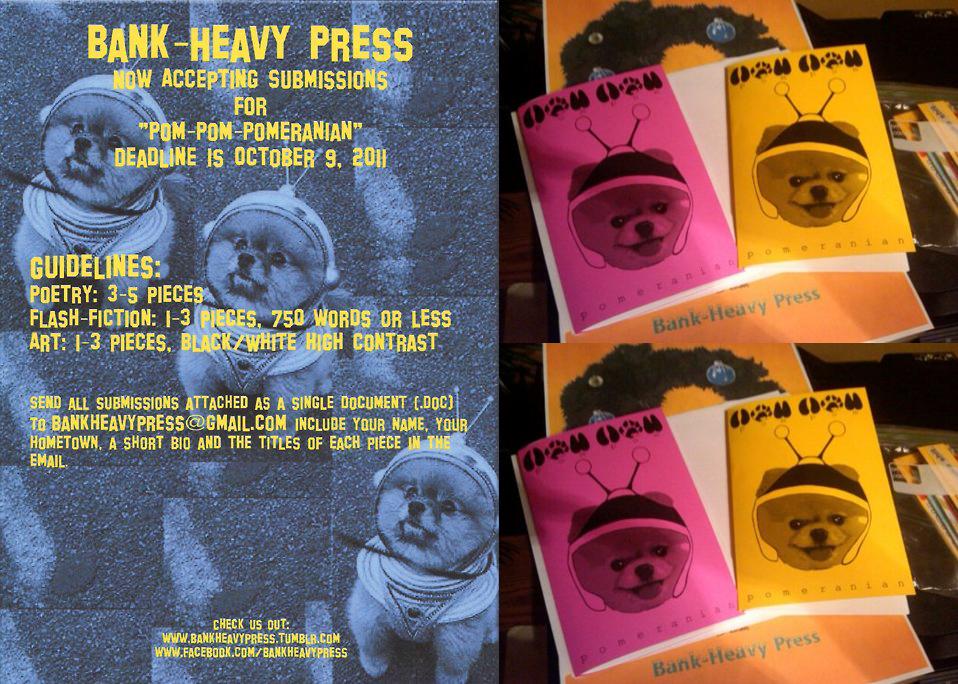 Pom Pom Pomeranian - collage copy